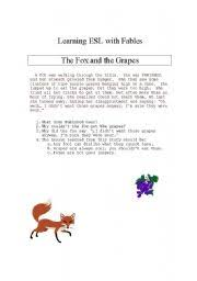 learning with fables the fox and the grapes