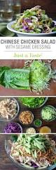 chinese chicken salad with sesame dressing recipe sesame