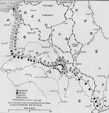 map of the week the christmas truce 1914