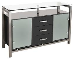 black sideboard with glass doors fleshroxon decoration