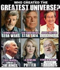 Who Created Memes - who created the greatest universe george lucas gene roddenberry