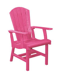 Fuschia Chair Cr Plastic Products C14 Addy Dining Arm Chair