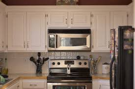 Painted Wooden Kitchen Cabinets Great Painted Kitchen Cabinets White Spray Paint Wood Kitchen