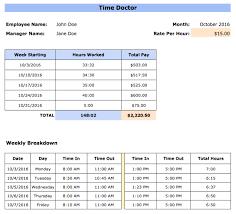 Excel Work Timesheet Template Free Employee Timesheet Templates Excel Pdf Word