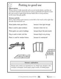 awesome collection of grade 3 science structures worksheets for