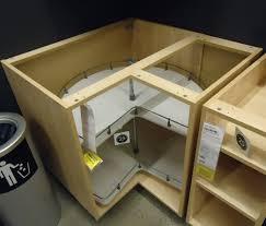 kitchen cornerbinet cupboard solutions sizes storage lazy susan