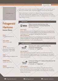 Resume Sample Untuk Kerja Kerajaan by Desain Cv Kreatif Contoh Resume