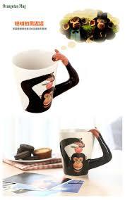 new arrival creative gift ceramic coffee milk tea mug 3d animal