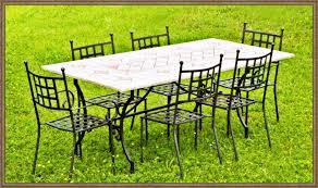 tavolo da giardino prezzi tavoli e sedie in ferro battuto da giardino prezzi idee