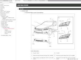 100 car repair manuals lexus 100 ideas lexus is250 manual