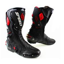men s motorcycle boots men s motorcycle protective gear boots pro biker speed riding shoes
