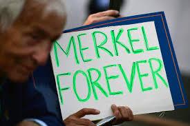 K Hen Berlin Cdu Wahlkampf In Berlin Rechte Stören Auftritt Von Angela Merkel
