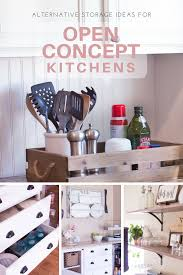 Storage Ideas For Kitchen Cabinets 6 Creative Storage Solutions For A Kitchen With No Upper Cabinets