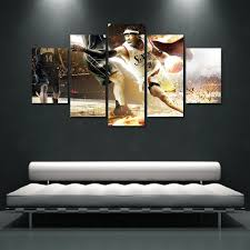 aliexpress com buy 5 panel canvas art painting printed motor