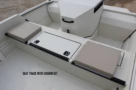 seat track seaark boats arkansas