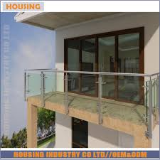 Exterior Stair Railing by Glass Stair Railing Cost Glass Stair Railing Cost Suppliers And