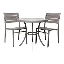 Glass Top Patio Table And Chairs Home Design Mesmerizing Outdoor Table And Chair Set Home Design