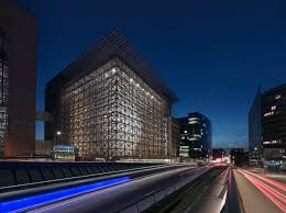 bureau union bruxelles headquarters of the council of the european union by samyn and