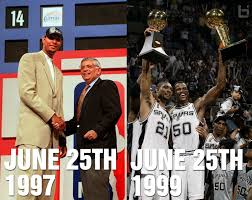 Tim Duncan Meme - this day in history the spurs drafted tim duncan in 1997 then