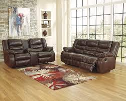 Ashley Furniture Microfiber Loveseat Buy Ashley Furniture Linebacker Durablend Espresso Reclining