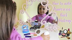 kit diy ag american diy american doll makeup craft