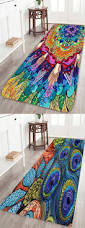 northern europe conch goddess flannel bath mat decorative items