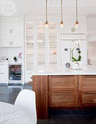 Glass Cabinets In Kitchen Kitchen Creative Kitchen Cabinets Display In Clean With White