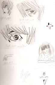 death note sketch by tsuki 92 on deviantart