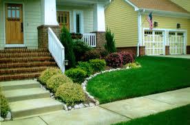 lawn u0026 garden simple front yard landscaping ideas the landscape