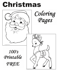 free christmas coloring page christmas coloring pages free and printable