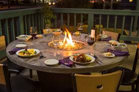 Gas Firepit Tables Pit Tables Gas Propane Magnificent Dining Table With