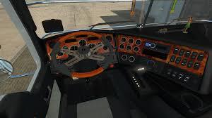 kenworth truck interior kenworth k200 v11 0 truck euro truck simulator 2 mods
