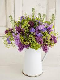 pitcher perfect a relaxed lilac arrangement hgtv
