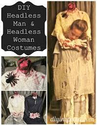 Halloween Costume Headless Man Holding Head Headless Man Headless Woman Costumes Diy Inspired