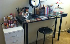 Makeup Vanity Canada Table Shocking Makeup Vanity Table Height Favorite Makeup Vanity