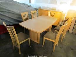 maple dining room furniture west auctions auction fiberform cabin cruiser boat dirt bikes