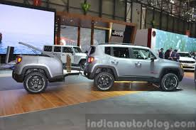 jeep matte grey jeep renegade hard steel concept 2015 geneva live