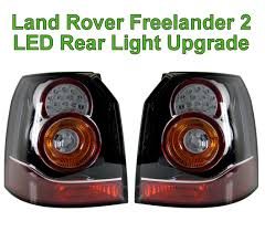land rover lr2 2012 land rover freelander 2 led rear light tail lamp upgrade kit lr2