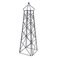 amazon com lattice obelisk trellises garden u0026 outdoor