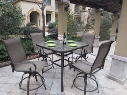Sling Back Patio Dining Sets - patio dining set swivel chairs on a budget amazing simple at patio