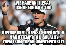 Ed Hochuli Meme - awesome fallacy referee ed hochuli memes imgflip testing testing