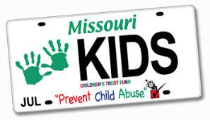 ctf specialty license plate children s trust fund of missouri