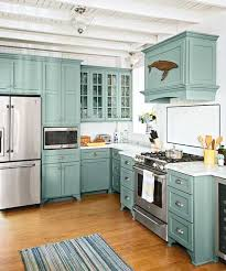 cottage kitchen furniture from musty to must see kitchen teal kitchen cabinets