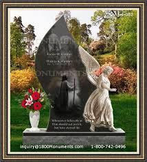 tombstone cost angel headstones