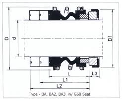 burgmann mg1 mg12 mg13 replacements rubber bellows flex a seal