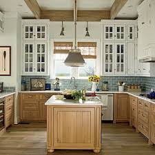 white and wood kitchen cabinets stylish two tone kitchen cabinets for your inspiration hative
