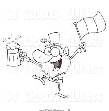 royalty free stock st paddy u0026s designs coloring pages
