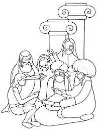 jesus walks on water coloring pages and on page omeletta me