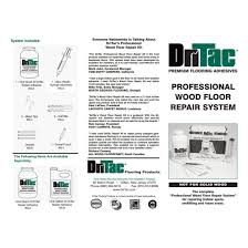 Spongy Laminate Floor Amazon Com Dritac Wood Floor Repair Kit Engineered Flooring Only