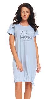 doctor nap u201c u0027best mom in the world u201d u0027 night dress in blue